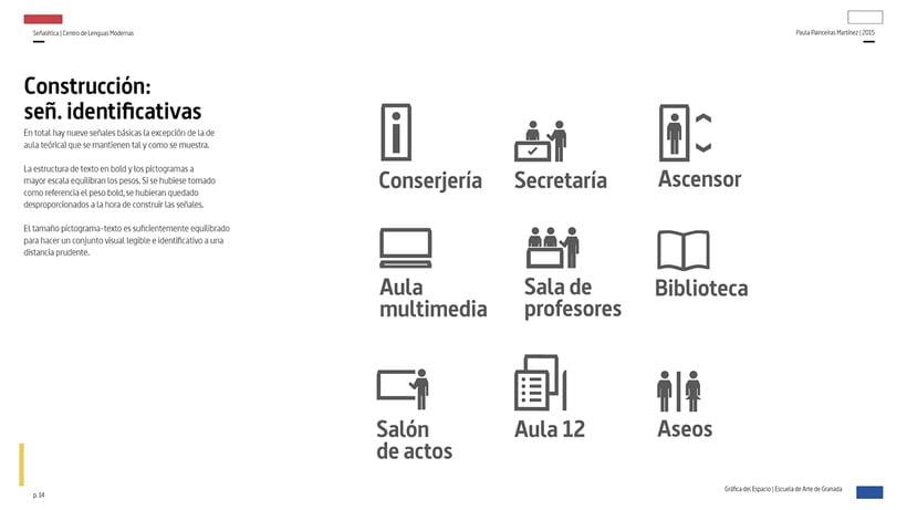 Wayfinding del Centro de Lenguas Modernas 11