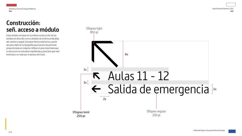 Wayfinding del Centro de Lenguas Modernas 13