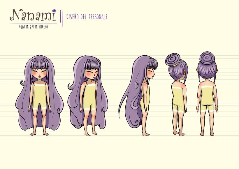 Nanami, ilustración infantil 1