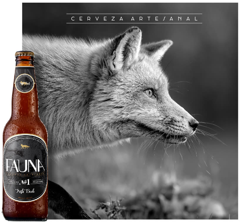 Identidad: Cerveza FAUNA 7