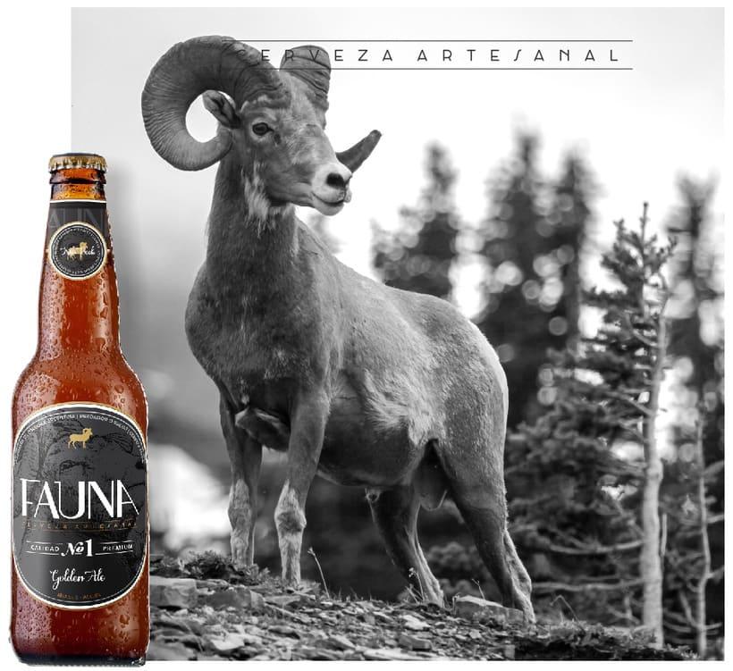 Identidad: Cerveza FAUNA 8