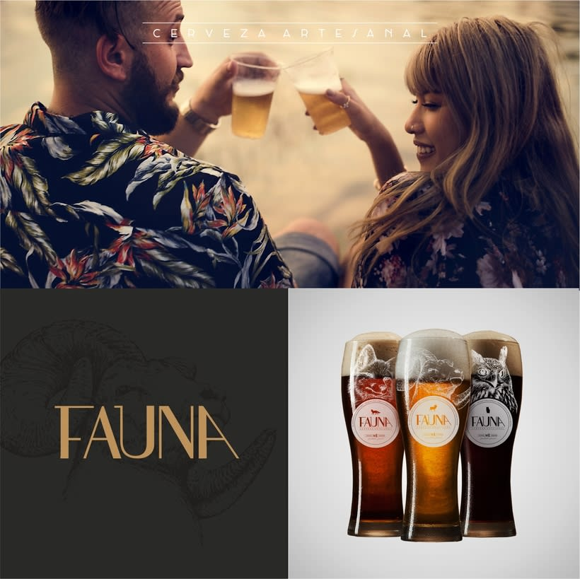 Identidad: Cerveza FAUNA 9