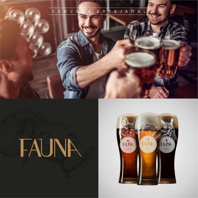 Identidad: Cerveza FAUNA 10