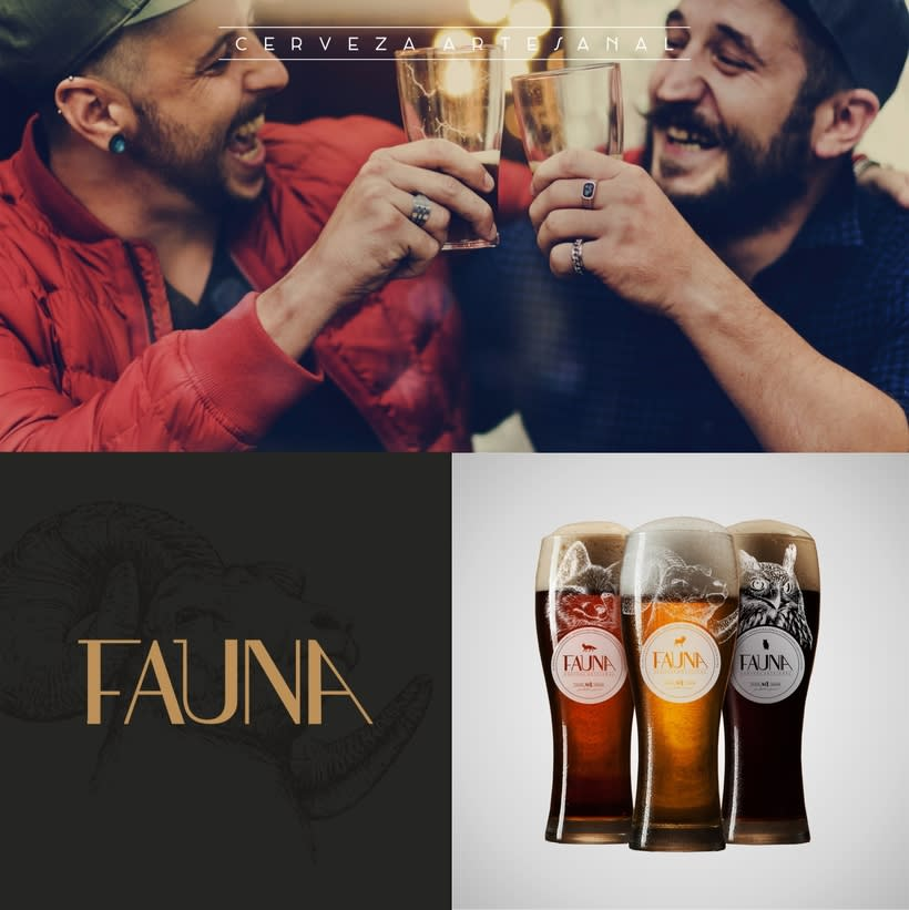 Identidad: Cerveza FAUNA 11