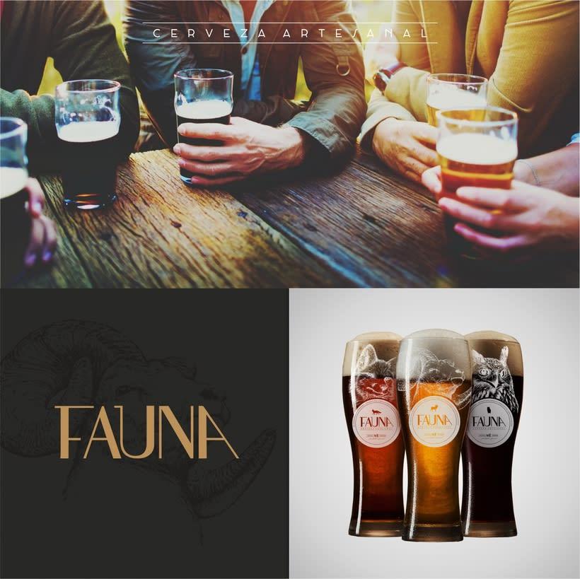 Identidad: Cerveza FAUNA 12
