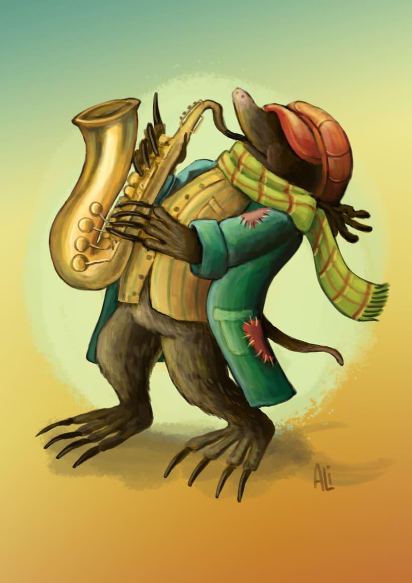 Topo saxofonista -1