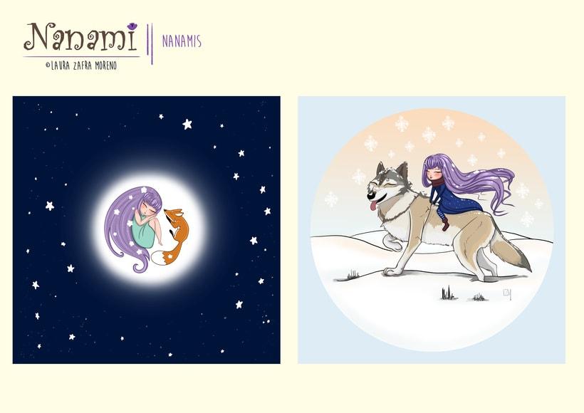 Nanami, ilustración infantil 3