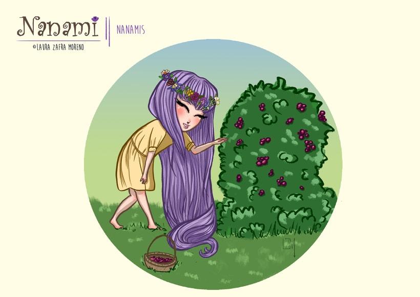 Nanami, ilustración infantil 5
