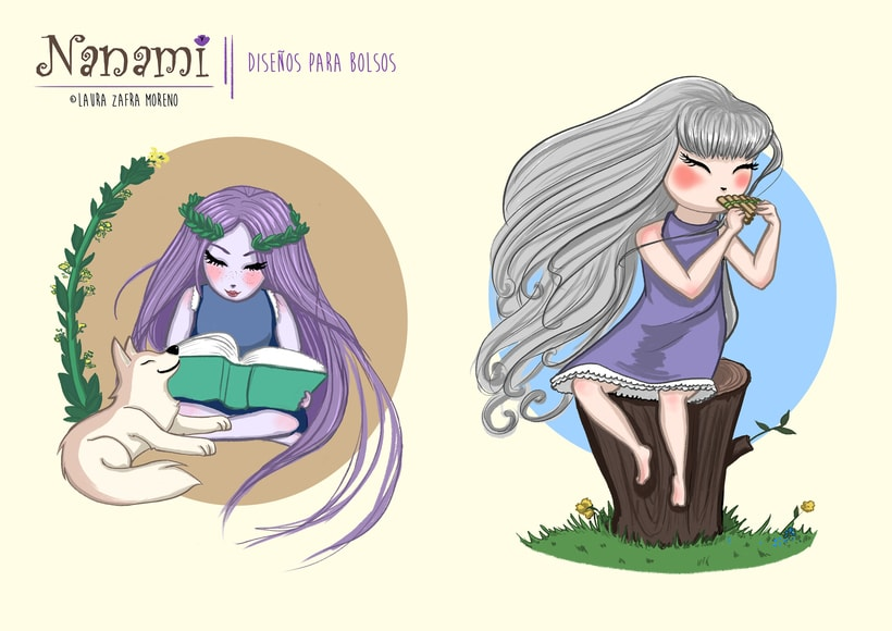 Nanami, ilustración infantil 2