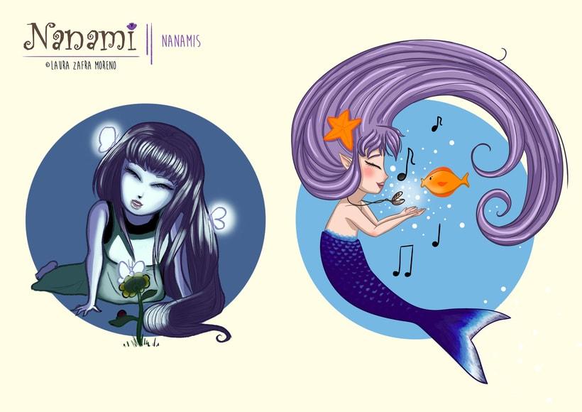 Nanami, ilustración infantil 4
