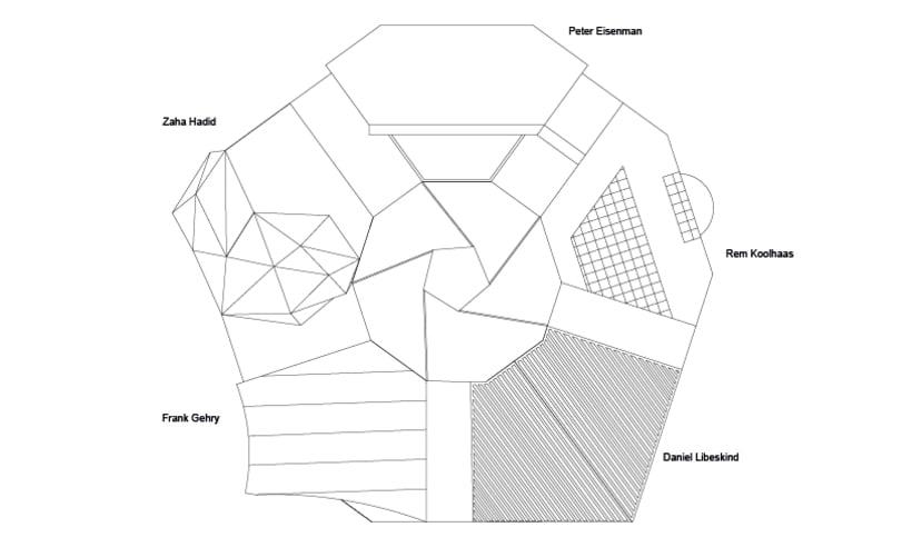 Los cinco Jinetes del Deconstructivismo 3
