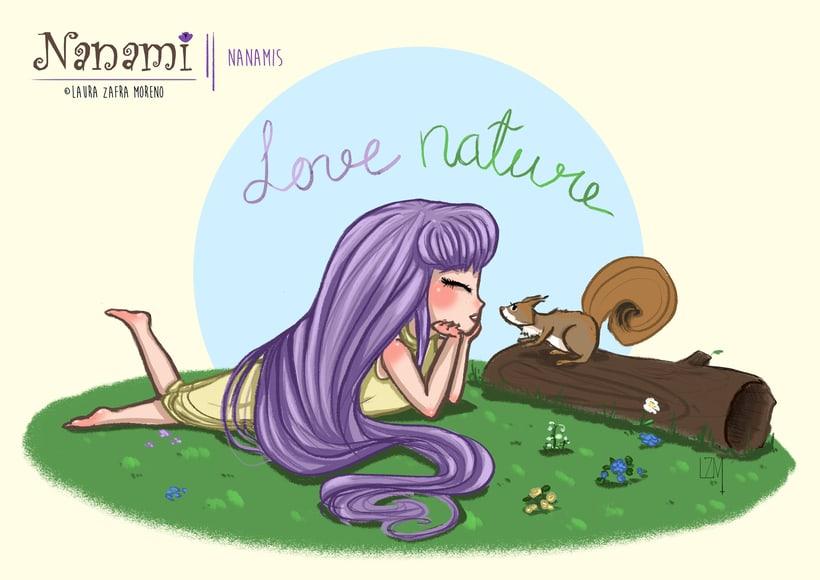 Nanami, ilustración infantil 6