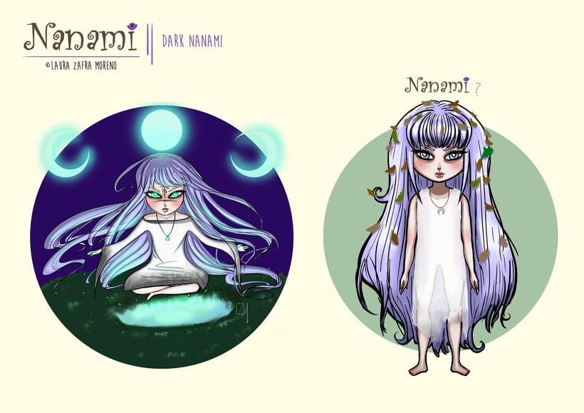Nanami, ilustración infantil 7