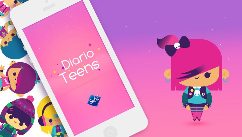 SABA teens characters 0