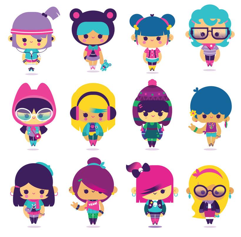 SABA teens characters 2