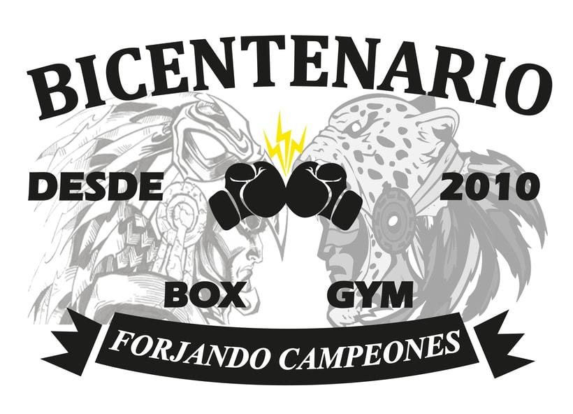 Rediseño Logo Escuela de Box  1