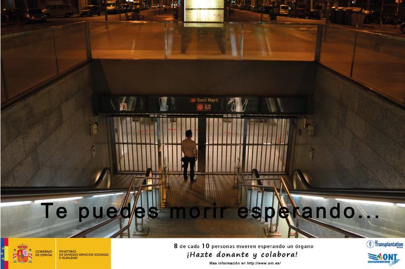 Campaña publicitaria para ONT 2