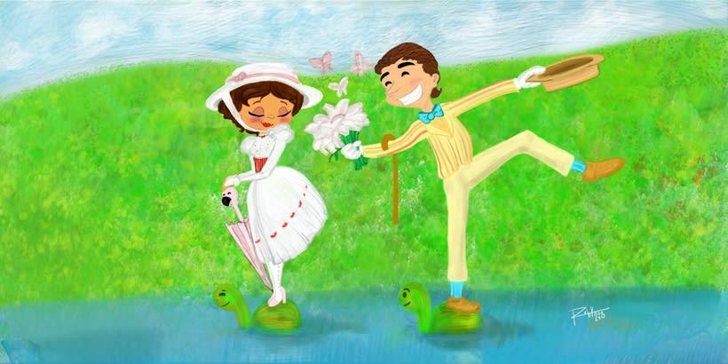 Mary Poppins. Mi proyecto para Ilustración de Libros Infantiles 0