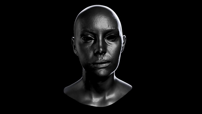 Skin shader study 2