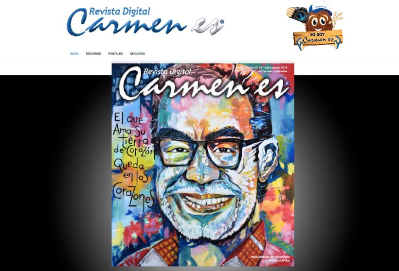 """Revista Digital """"Carmen es"""" 0"""