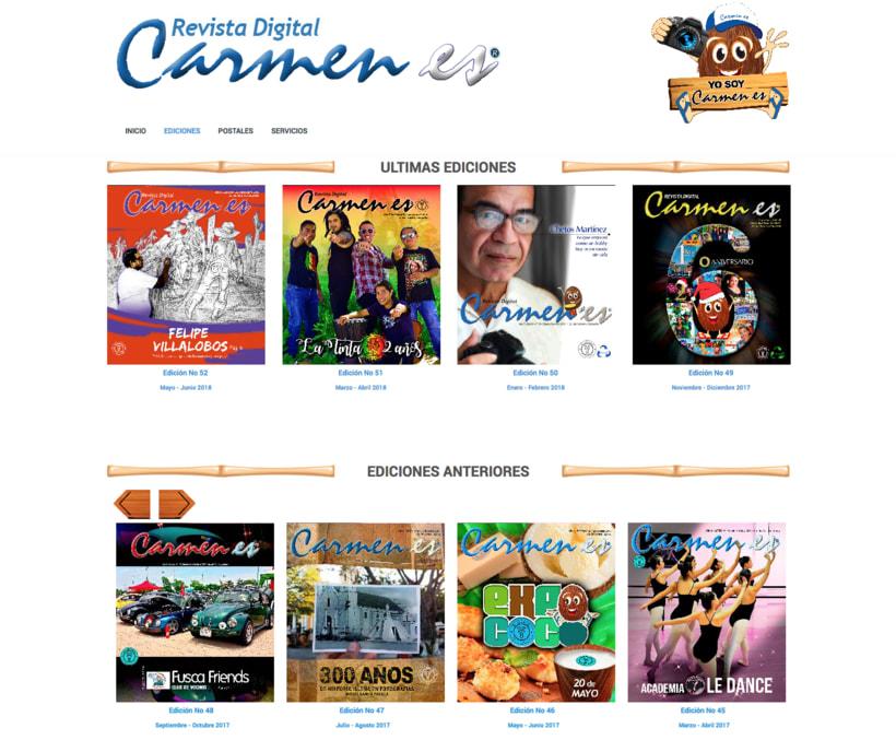 """Revista Digital """"Carmen es"""" 1"""