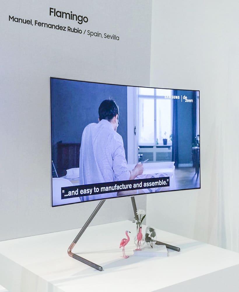 FLAMINGO: Soporte para SAMSUNG QLED TV (Propiedad de SAMSUNG) 14