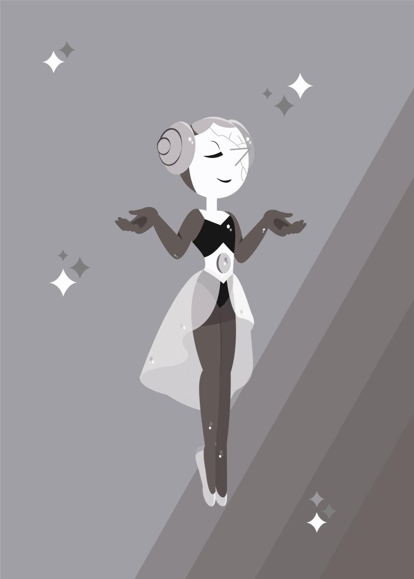 White Pearl - Illustration  0