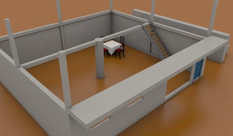Casa en construcción (Primeras prácticas) -1