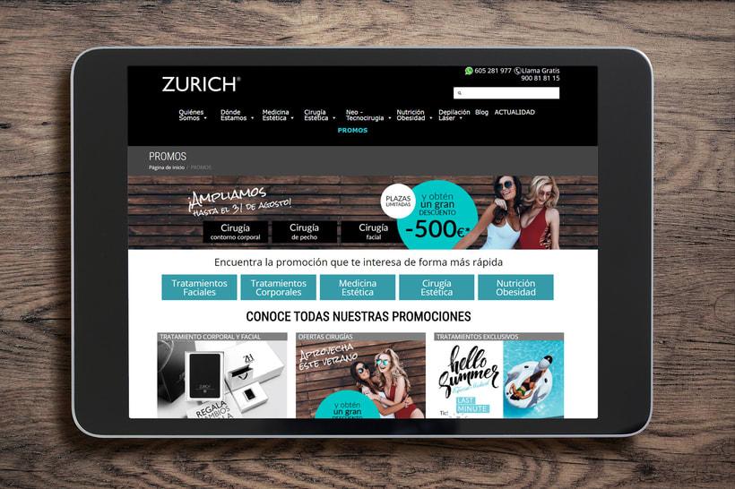 Clínicas Zurich Campaña Dto. Verano 2018  1