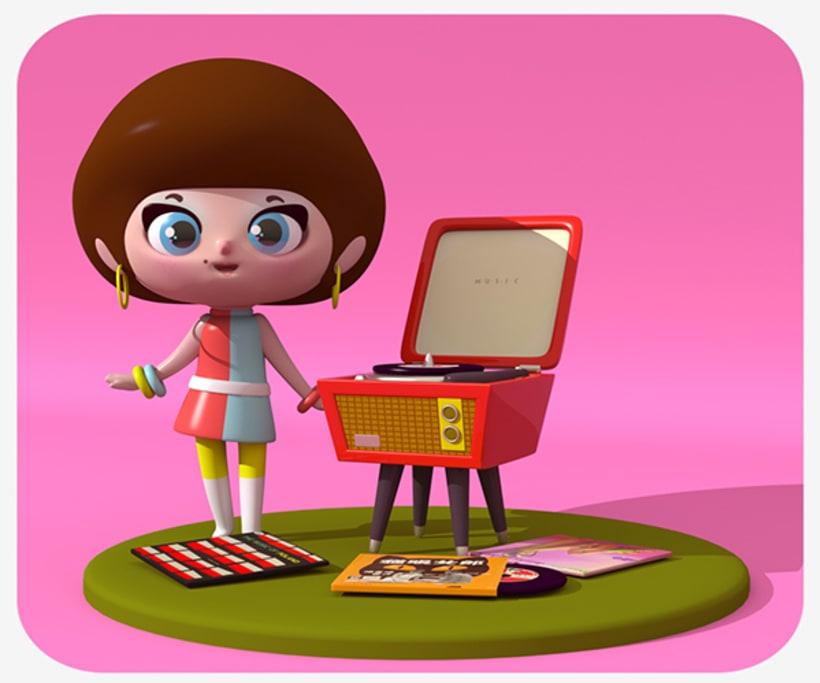 Diseño de personajes 3D 1
