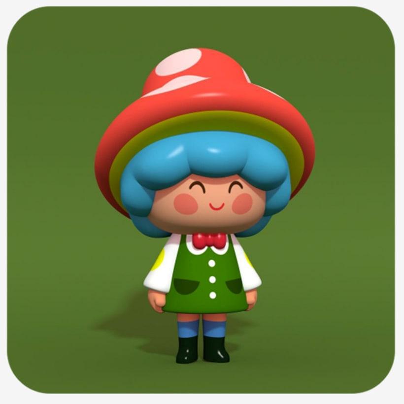Diseño de personajes 3D 4