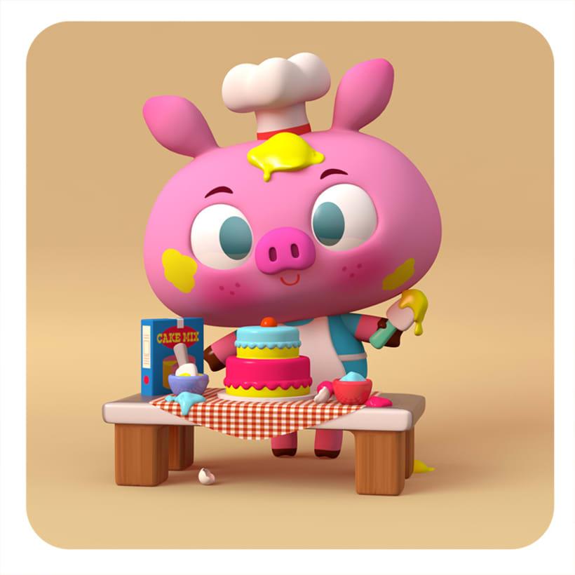 Diseño de personajes 3D 0