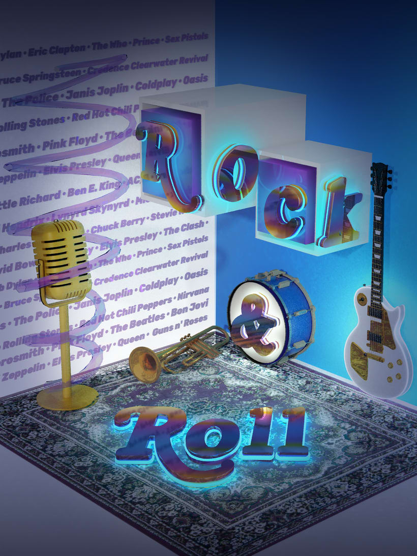 ROCK AND ROLL -1