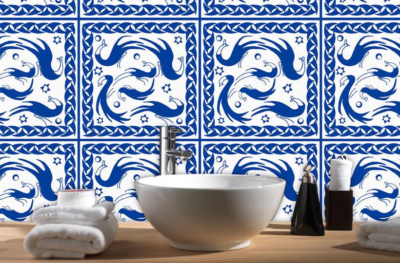 """""""Arabeando..."""": Creación y comercialización de patterns vectoriales. 11"""