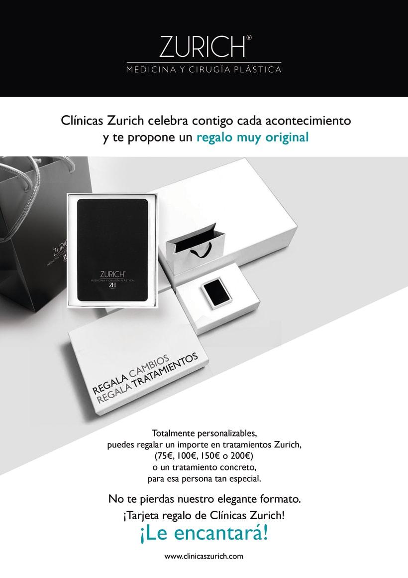 Clínicas Zurich Tarjetas Regalo 0