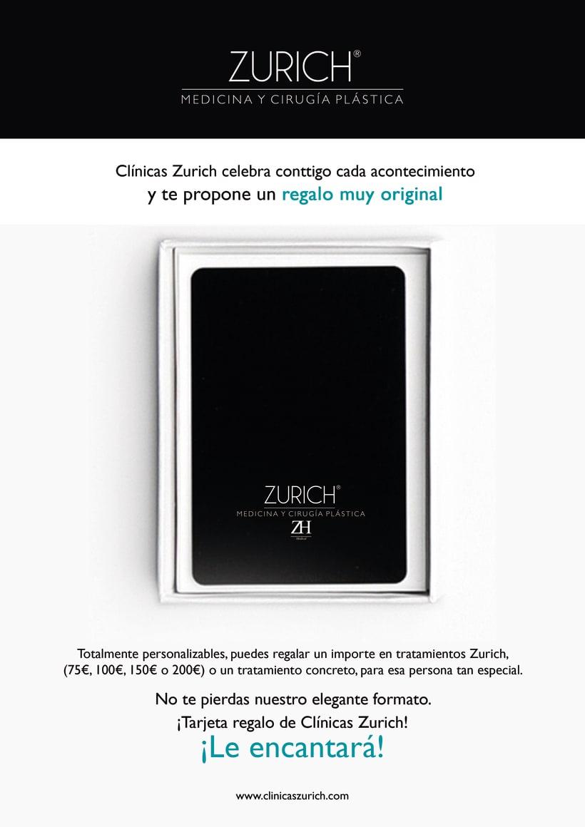 Clínicas Zurich Tarjetas Regalo 1