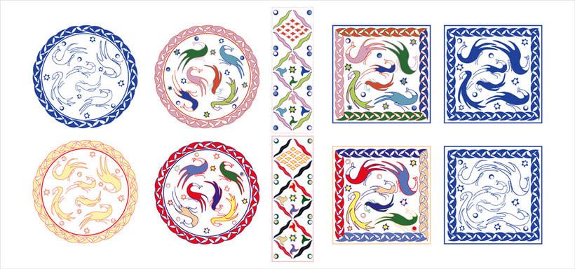 """""""Arabeando..."""": Creación y comercialización de patterns vectoriales. 1"""