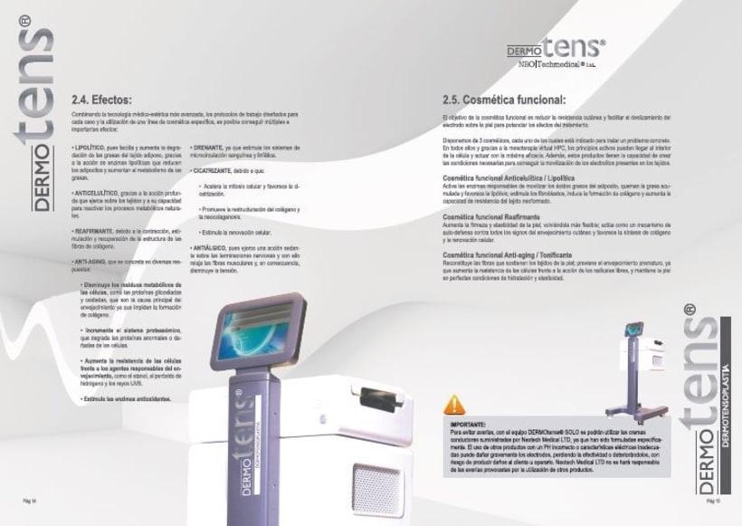 DermoTens Catalogos técnicos 0