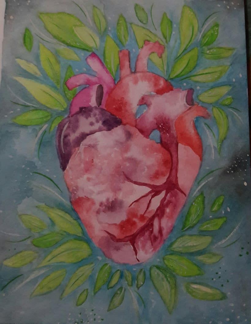Corazón Floreciendo. 0
