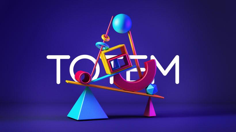 Totem - Modelado 3D 1