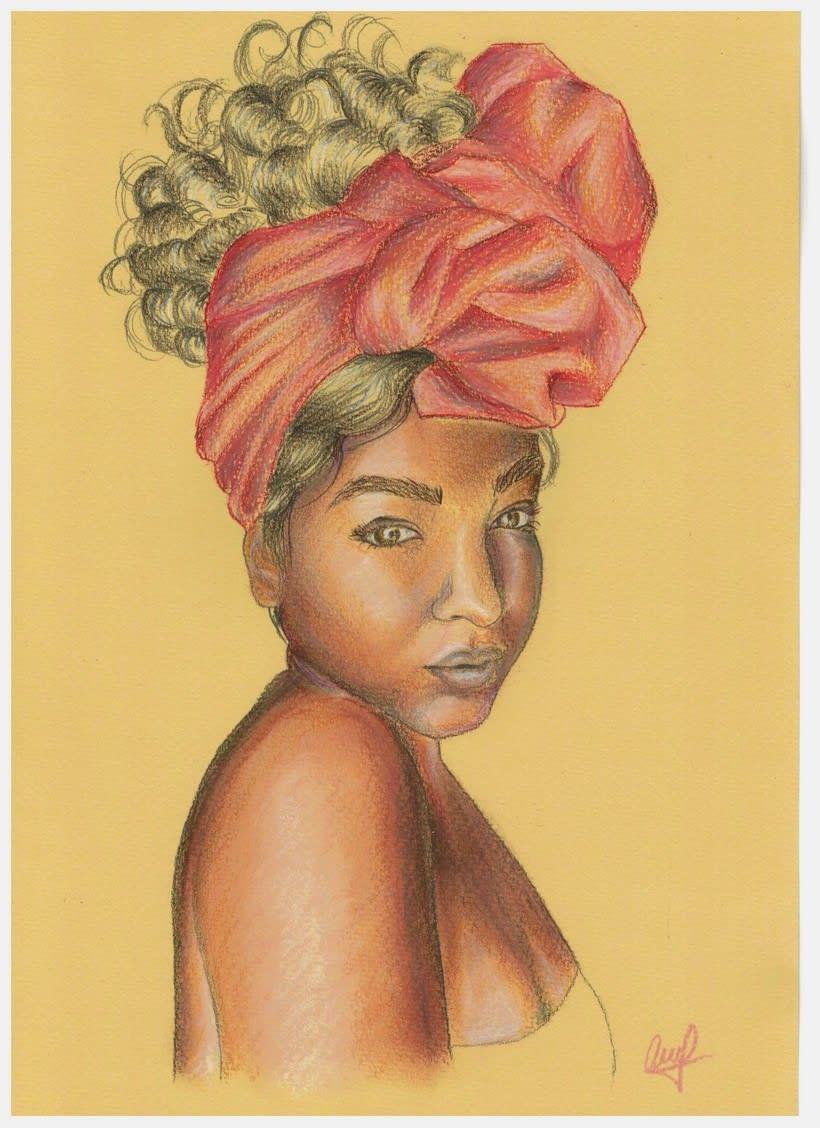 Mi Proyecto del curso: Ilustración con pastel y lápices de colores -1
