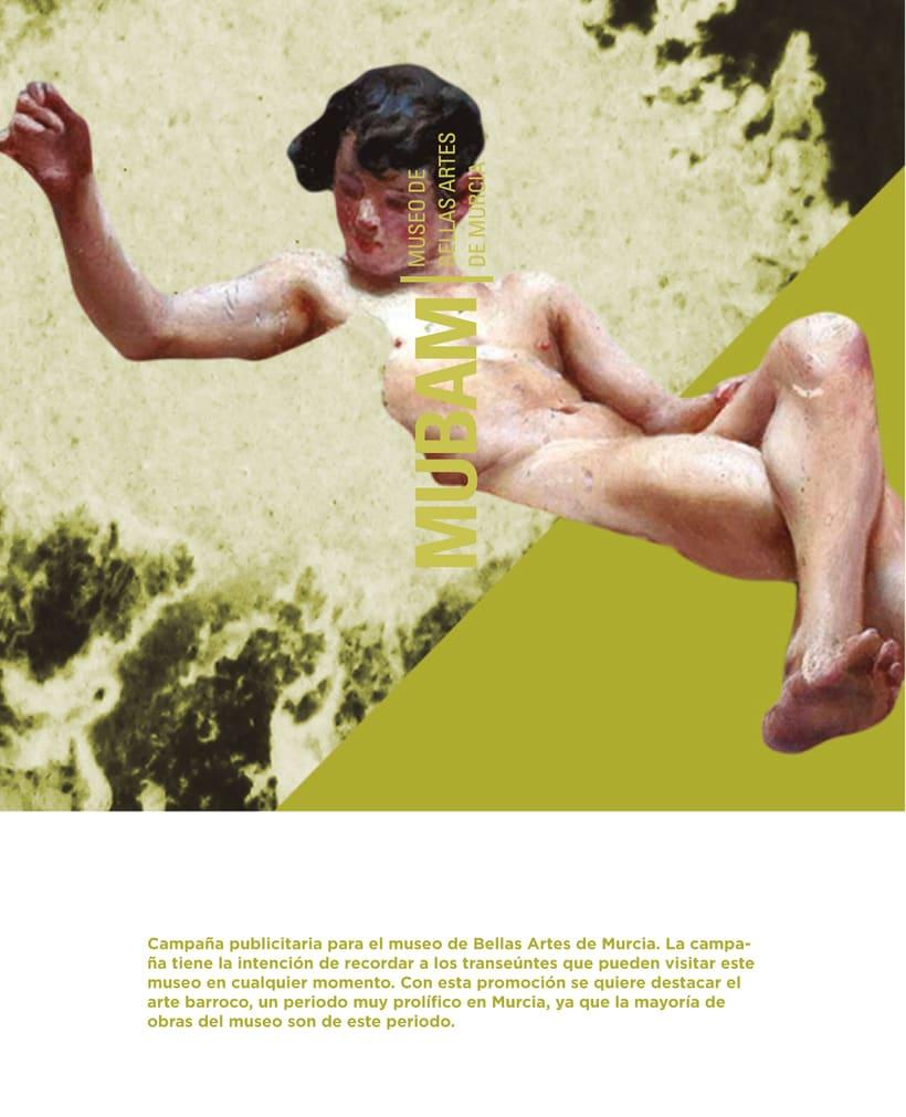 Museo MUBAM / Campaña publicitaria. 0