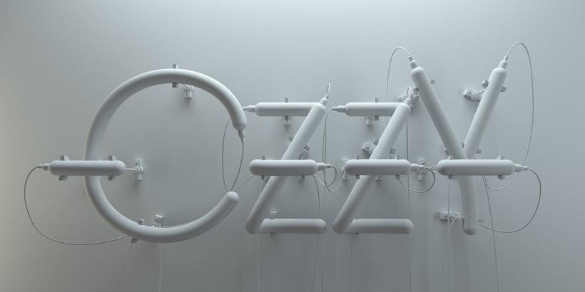 Mi Proyecto del curso: Lettering 3D: modelado y texturizado con Cinema 4D 4
