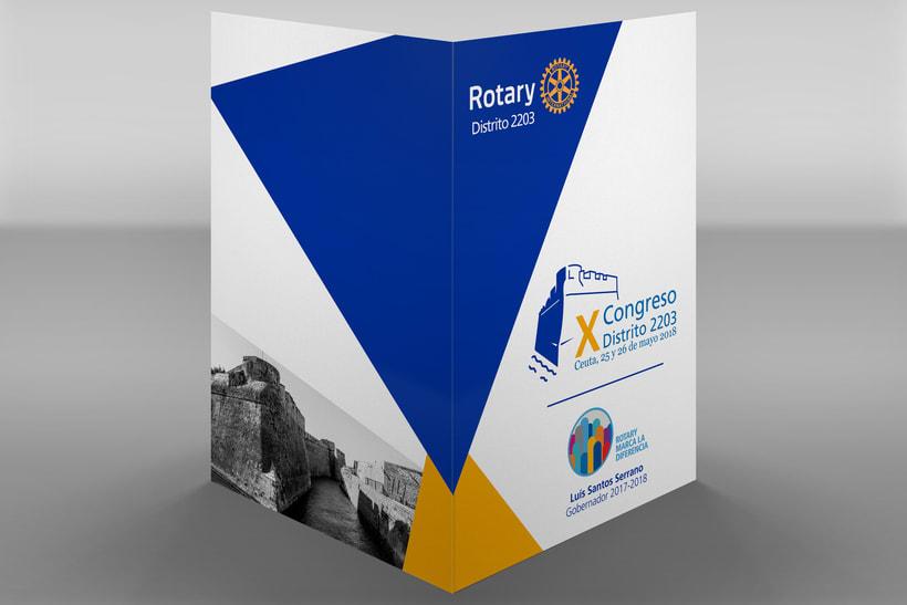 X Congreso Distrito 2203 Rotary Club 7