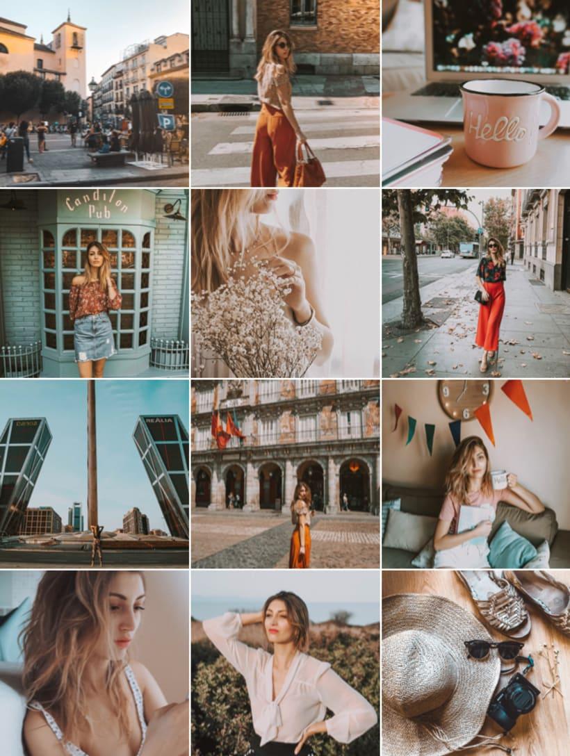 """Proyecto del curso """"Lifestyle branding en Instagram"""": grilla para mi blog @spaghetticonjamon  1"""