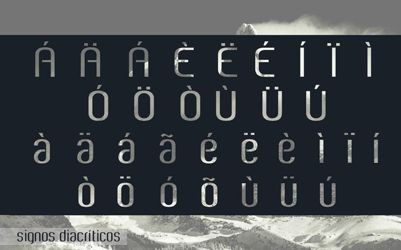 White City Typeface. 6