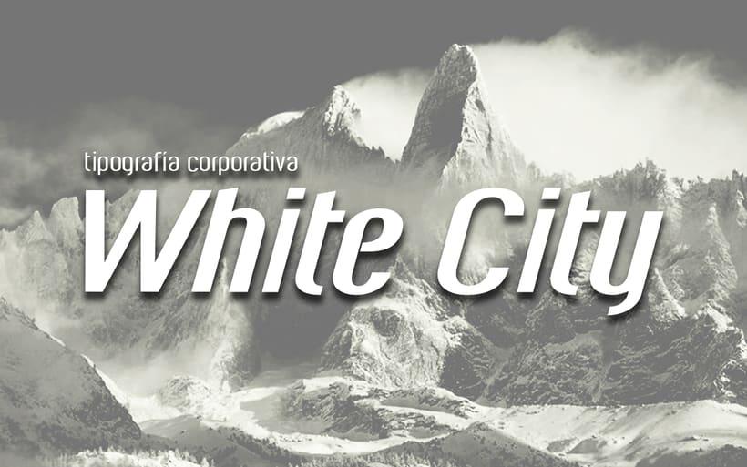 White City Typeface. 0