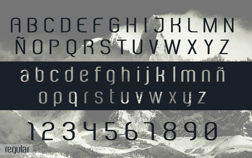 White City Typeface. 1