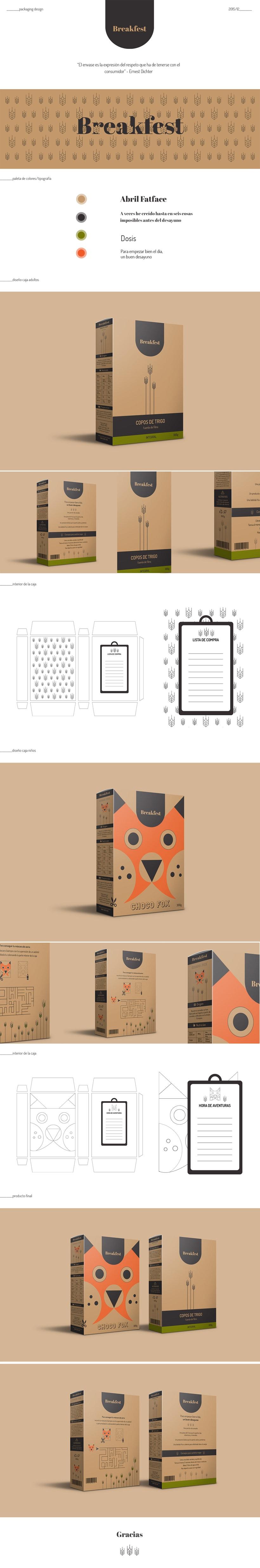 Packaging cereales 0