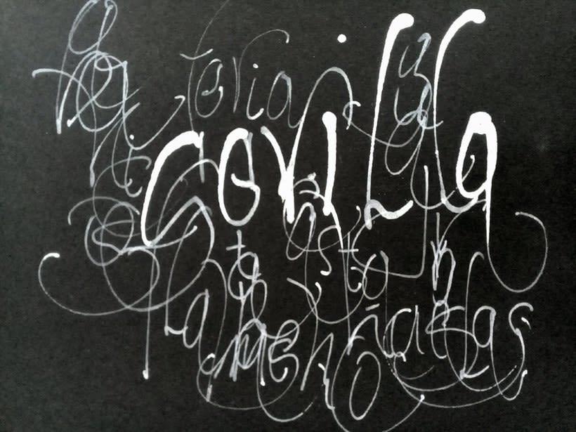 Mi Proyecto del curso: Caligrafía con tiralíneas -1